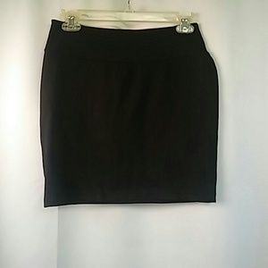 Old Navy Black Stretch Miniskirt, XS